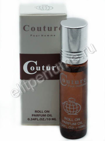 Couture pour Homme 10 мл арабские масляные духи от Фрагранс Ворлд Fragrance world