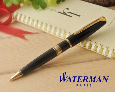 S0701000 Waterman Charleston Ebony Black GT Ручка-роллер