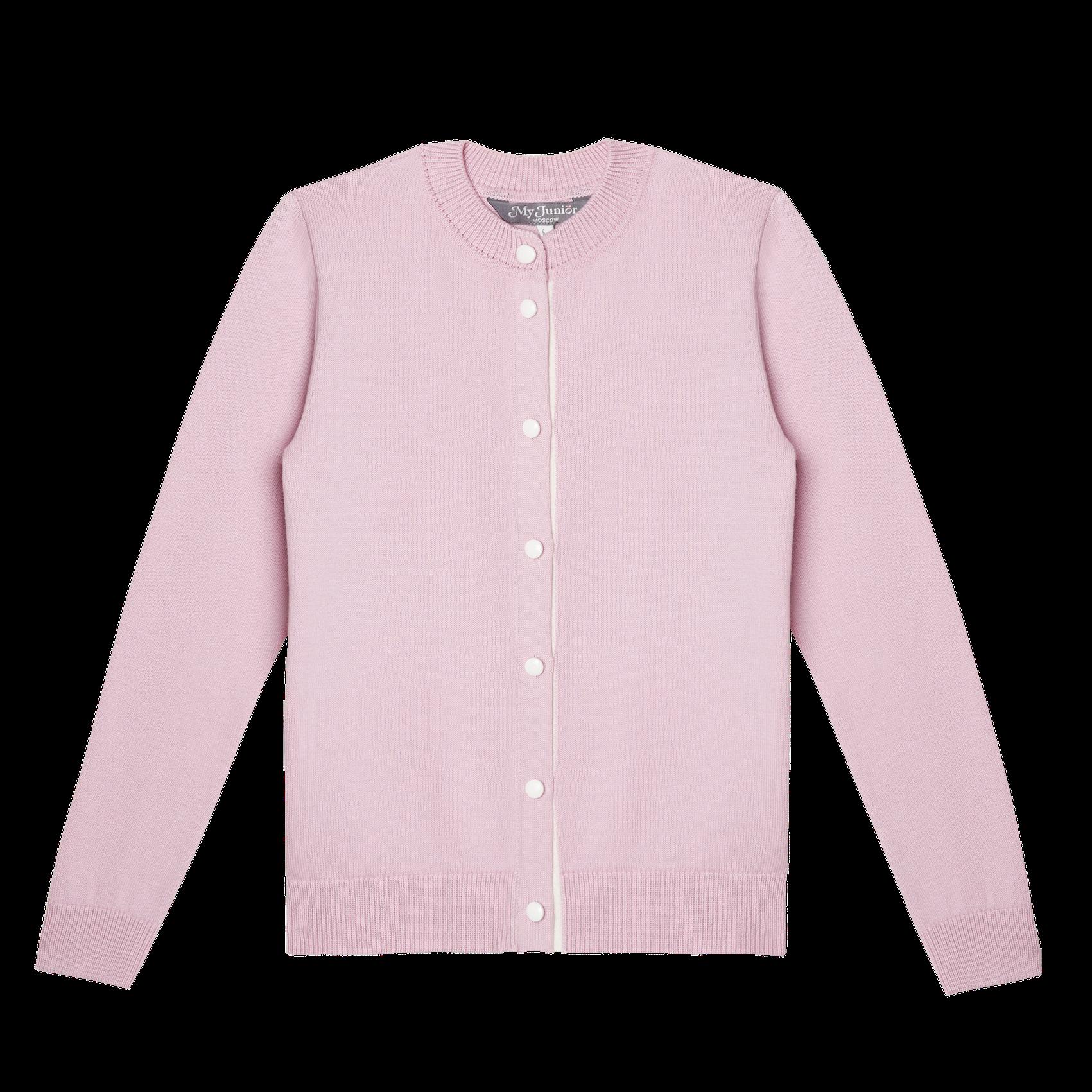 Кардиган розовый