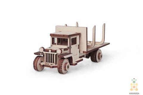 Lemmo деревянные конструкторы - Грузовики - ЗИС-12 Лесовоз