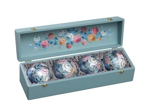 Набор из 4 елочных шаров в шкатулке SET04D-667785833