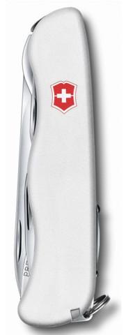 Нож Victorinox Forester, 111 мм, 12 функций, белый123