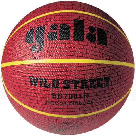 Мяч баскетбольный Gala WILD STREET 7 BB7081R