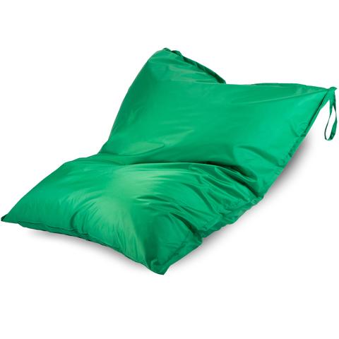 Бескаркасное кресло «Подушка», Зеленый