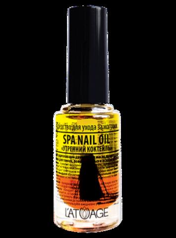 L'atuage Средство для ногтей Spa Nail Oil «Утренний коктейль» 8.5г