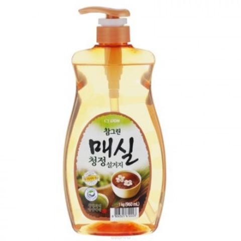 Средство для мытья посуды CJ Lion Chamgreen Японский абрикос 960 мл