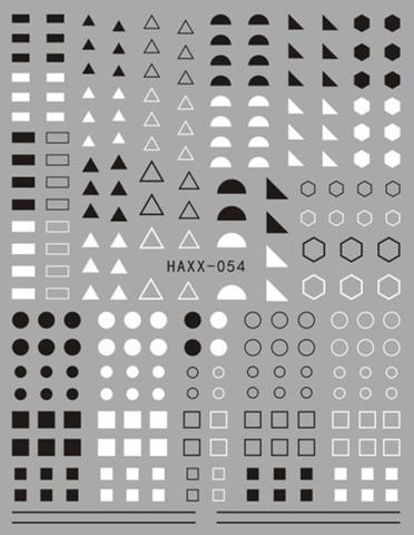 Наклейка силиконовая HAXX-54