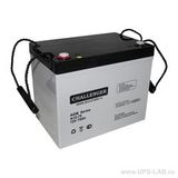 Аккумулятор для ИБП Challenger A12-75 (12V 75Ah / 12В 75Ач) - фотография