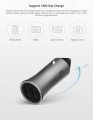 Автомобильная зарядка Xiaomi Mi Car Charger Pro 18w