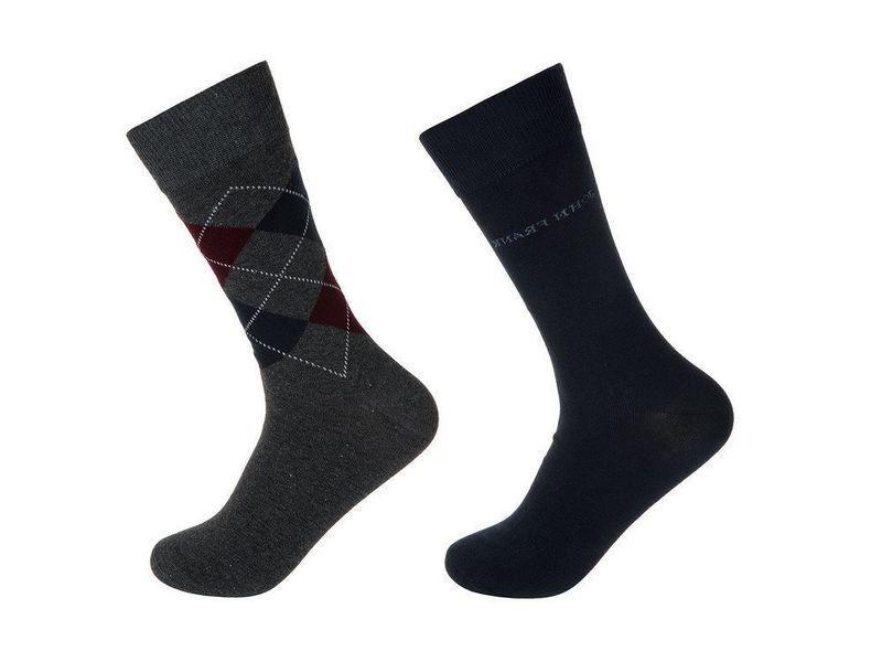 Носки мужские т. синие JOHN FRANK - комплект из 2 пар