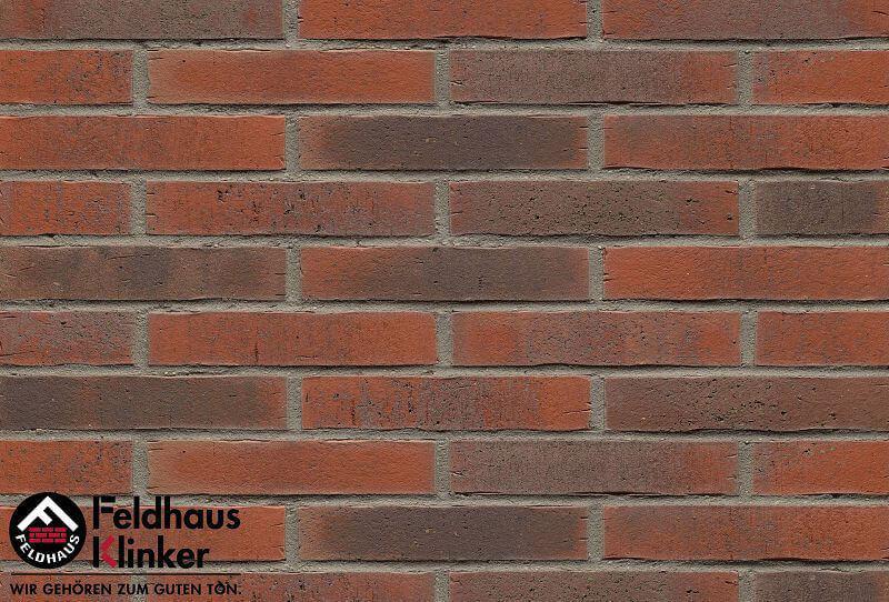 Feldhaus Klinker - R743LDF14, Vascu Carmesi Flores, 290x14x52 - Клинкерная плитка для фасада и внутренней отделки