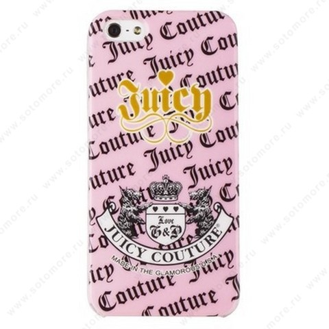 Накладка Juicy Couture для iPhone SE/ 5s/ 5C/ 5 вид 2
