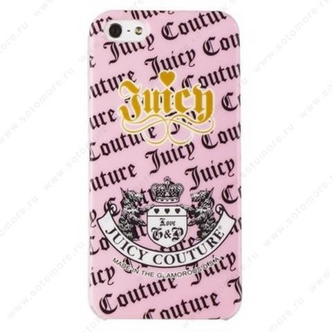 Накладка Juicy Couture для iPhone SE/ 5s/ 5C/ 5 вид 2