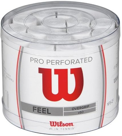 Намотки теннисные Wilson Pro Overgrip Perforated / WRZ478000