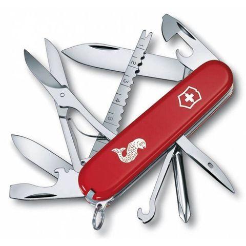 Нож перочинный Victorinox Fisherman (1.4733.72) 91мм 18функций красный