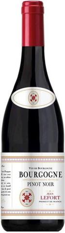 Вино Jean Lefort, Bourgogne Pinot Noir AOP, 0.75 л