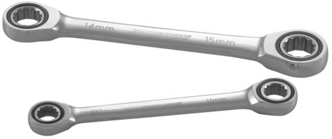 W681415 Ключ гаечный накидной трещоточный, 14х15 мм