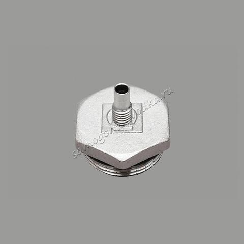 Заглушка под аристоновский ТЭН со штуцером термометра