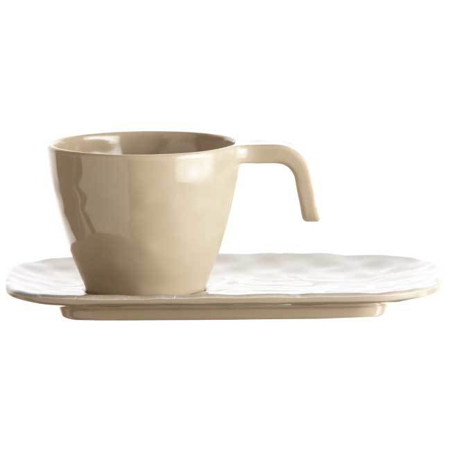 MELAMINE COFFEE SET HARMONY – SAND