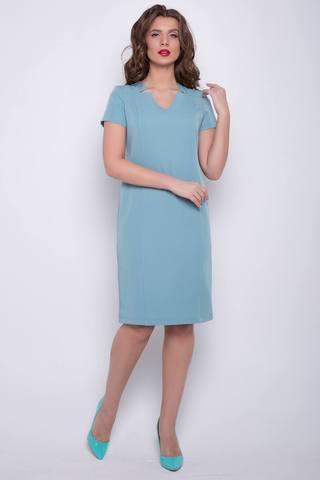 """<p>Модный и одновременно элегантный образ, в современной цветовой гамме - отличный способ заявить о себе! Платье """"Диор"""" от ELZA звучит как симфония стиля и отменного вкуса! Классическое платье полуприталенного силуэта, рукав короткий, модный вырез горловины, по спинке замок.</p>"""