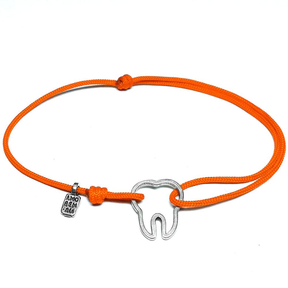 Tooth Bracelet, sterling silver