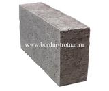 Блок бетонный перегородочный полнотелый