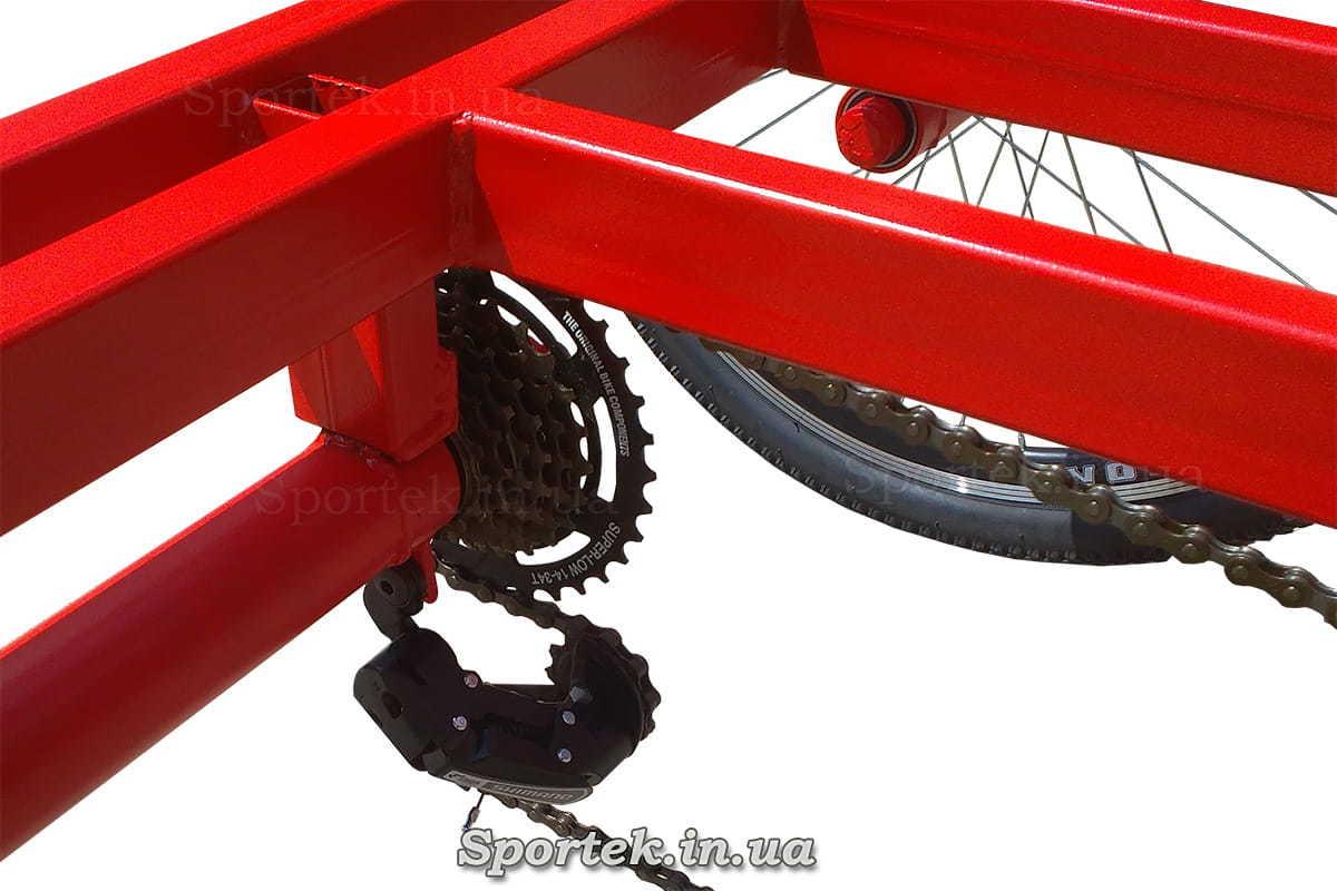 Перемикання передач на триколісному велосипеді