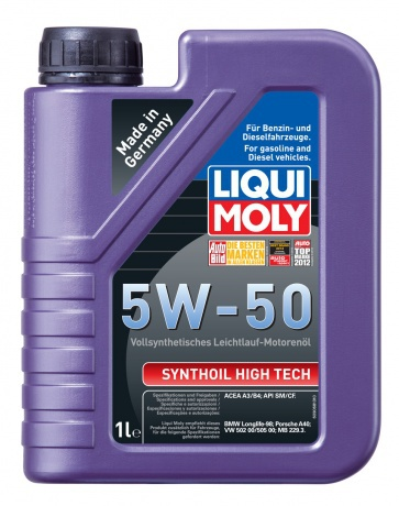 Liqui Moly Synthoil High Tech 5W-50 Синтетическое моторное масло