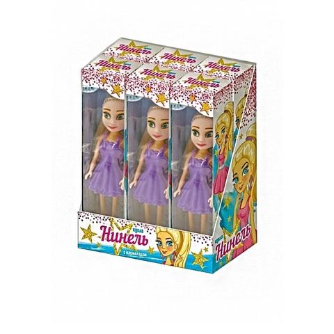 Мармелад в сах. глазури с игрушкой Кукла 1кор*12бл*6шт, 5г.