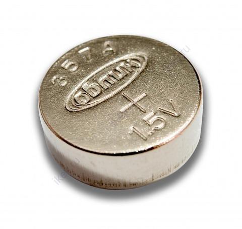 Батарейка Облик G13/LR44/357A 1,5V таблетка