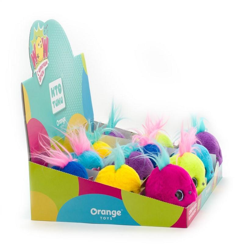 КТОтик голубой в забавных очках Orange Toys