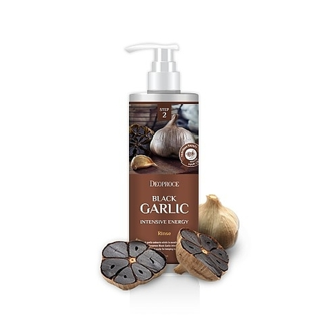 DEOPROCE HAIR BLACK GARLIC Бальзам для волос чёрный чеснок DEOPROCE RINSE - BLACK GARLIC INTENSME ENERGY 1000мл