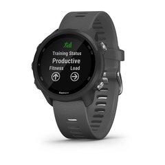 Часы для бега Garmin Forerunner 245 черный с серым ремешком (010-02120-10)