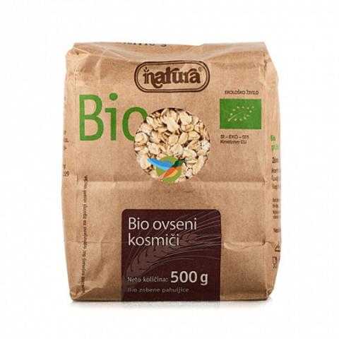 Хлопья овсяные органические Bio, Natura, 500 г