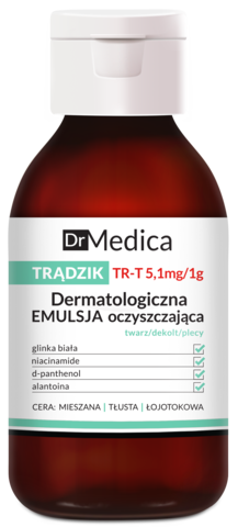 DR MEDICA ACNE Дерматологическая очищающая эмульсия анти-акне, 250 г