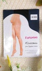 Евромама. Колготки для беременных гладкие, 20 Den черный вид 3