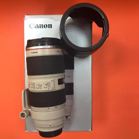Canon 70-200mm 2.8L IS II USM комиссия