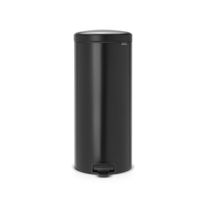 Мусорный бак newicon (30 л), Черный матовый, арт. 114540 - фото 1