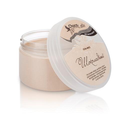 Гель-крем для мытья волос МУСС ШОКОЛАДНЫЙ с какао, 280ml TM ChocoLatte