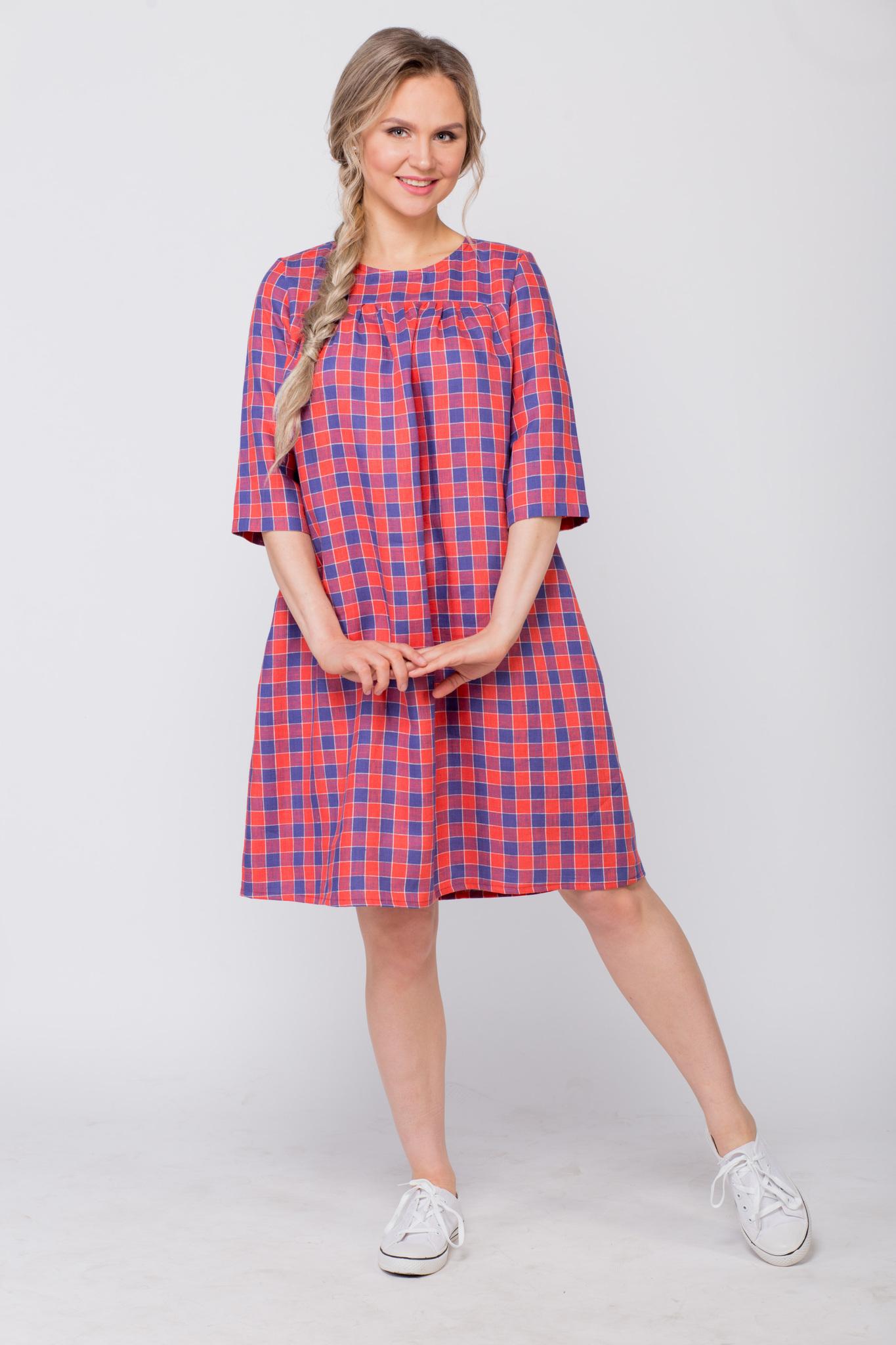 Платье льняное Хобби с кедами