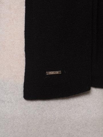 Женский черный шарф - фото 3