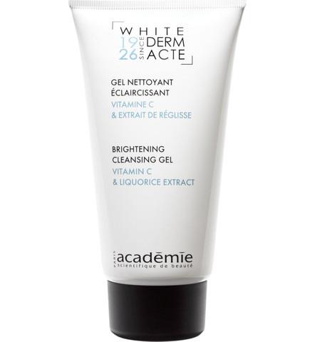 Academie White Derm Acte Gel Nettoyant Éclaircissant Brightening Cleanser Gel