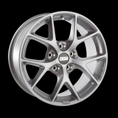 Диск колесный BBS SR 8x18 5x112 ET45 CB82.0 brilliant silver