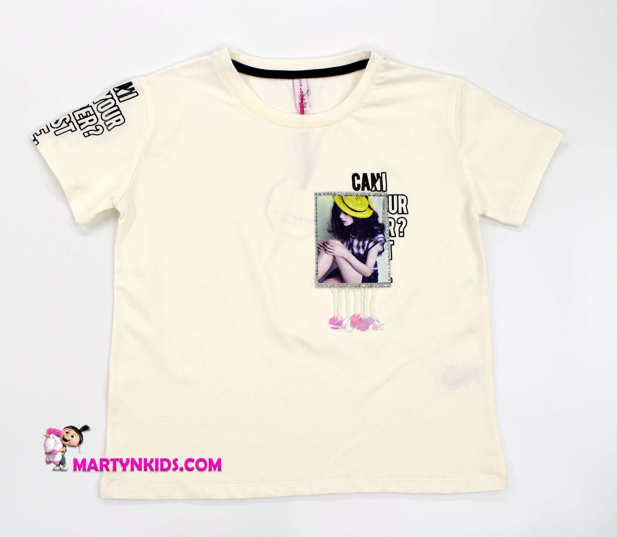 2211  футболка с подвесками