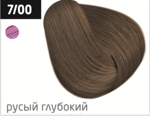OLLIN color 7/00 русый глубокий 100мл перманентная крем-краска для волос