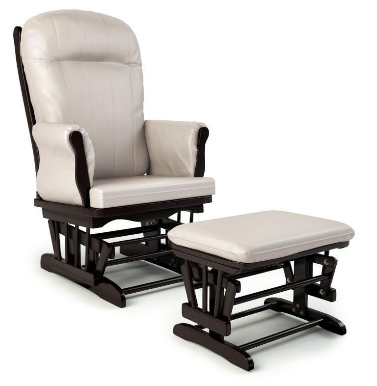 Кресло-качалка Makaby Lux с оттоманкой купить недорого