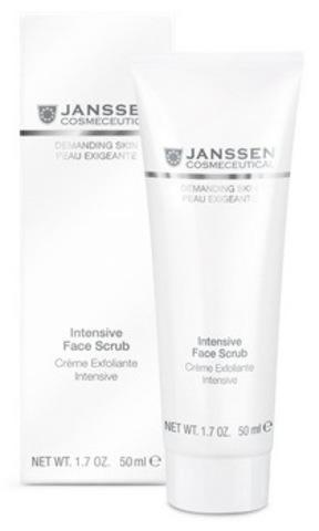 Интенсивный скраб Janssen Intensive Face Scrub,50 мл.