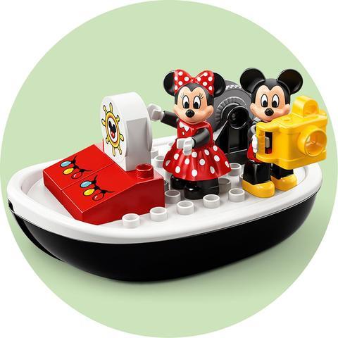 LEGO Duplo: Катер Микки 10881 — Mickey's Boat — Лего Дупло