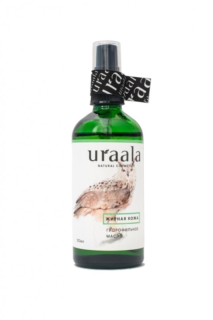 Гидрофильное масло для жирной кожи Ura'ala, 100 мл