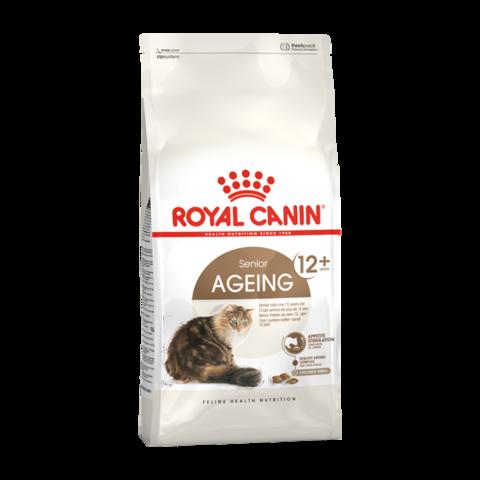 Royal Canin AGEING 12+ Сухой корм для пожилых кошек и котов старше 12 лет